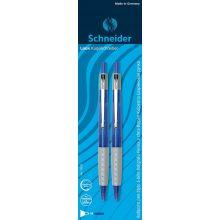 SCHNEIDER Kugelschreiber Loox 2 Stück blau