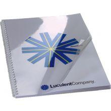 IBICO Deckblätter A4 für Spiralbindung 0,15 mm