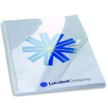 IBICO Deckblätter A4 für Spiralbindung 0,20 mm