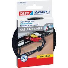 TESA Kabelbinder 55239 10 mm x 5 m universal schwarz