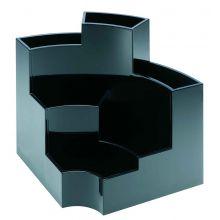 ALCO Schreibtischbutler 4473 6 Fächer schwarz