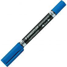 STAEDTLER Folienstift Duo 348 F+M blau