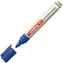 EDDING Permanentmarker 21 EcoLine Rundspitze 1,5-3 mm blau