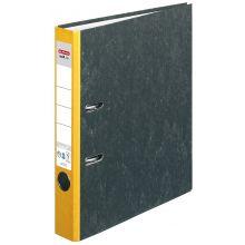 HERLITZ Ordner maX.file A4 5 cm gelb