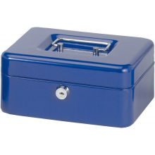 MAUL Geldkassette 20 x 17 x 9 cm blau