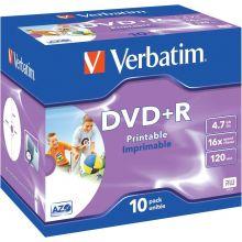 VARBATIM DVD 10 Stück im Jewel Case