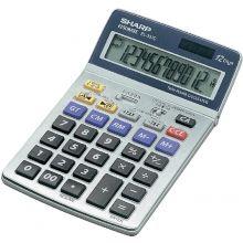 SHARP Tischrechner EL-337C 12-stellig