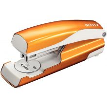 LEITZ Hefter 5502 New NeXXt WOW 30 Blatt aus Metall metallic orange