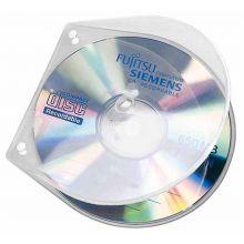 VELOBOX CD/DVD Hülle 4365000 10 Stück PP transparent