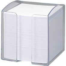 FOLIA Notizbox 700 Blatt 9,5 x 9,5 x 9,5 cm glasklar
