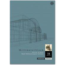 EDITION DÜRER Millimeterpapierblock A3 25 Blatt 90 g/m² satiniert weiß