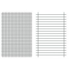 URSUS Linienblatt A5 80g/m² liniert/kariert