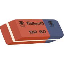 PELIKAN Radiergummi BR80 41 x 8 x 14 mm rot/blau