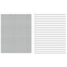 URSUS Linienblatt Quart 80g/m² liniert/kariert