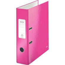 LEITZ Ordner 180° WOW 1005 A4 8 cm pink
