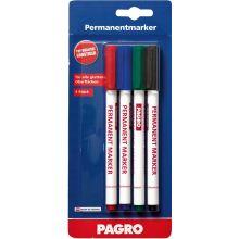 PAGRO Permanentmarker 4 Stück 0,5 mm