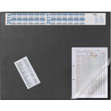 DURABLE Schreibunterlage 7204 65 x 52 cm mit Jahreskalender schwarz