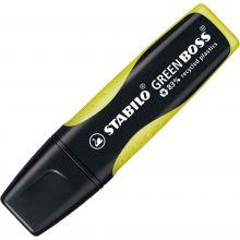 STABILO Textmarker 6070 Green Boss 2-5 mm gelb