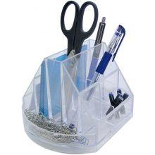 M&M Stifteköcher 628204 Solido drehbar glasklar