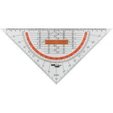 ARISTO Lineal 23008 GeoCollege 25 cm transparent