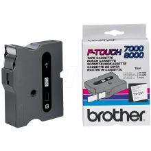 BROTHER Schriftband P-Touch 24 mm x 15,4 m schwarz auf weiß