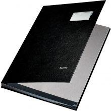 LEITZ Unterschriftsbuch 5701 A4 10-teilig schwarz