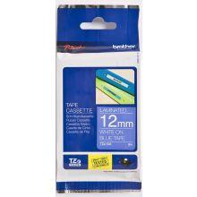 BROTHER Schriftband P-Touch TZ-535 12 mm x 8 m weiß auf blau