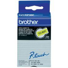 BROTHER Schriftband P-Touch 12 mm x 7,7 m schwarz auf gelb