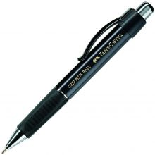 FABER-CASTELL Kugelschreiber 1407 Grip Plus Ball M schwarz