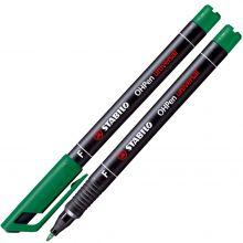 STABILO Folienstift OHPen 0,7 mm wasserfest grün