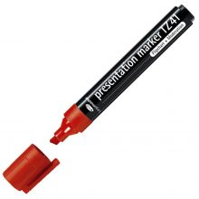 LEGAMASTER Flipchartmarker TZ41 Keilspitze 2-5 mm rot