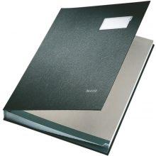 LEITZ Unterschriftsmappe 5700 A4 20-teilig schwarz