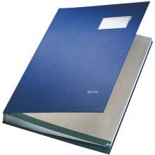 LEITZ Unterschriftsmappe 5700 A4 20-teilig blau
