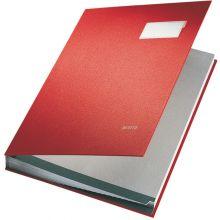LEITZ Unterschriftsmappe 5700 A4 20-teilig rot