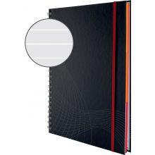 AVERY ZWECKFORM Notizbuch notizio 7024 mit Hardcover DIN A4 90 Blatt 90g/m² liniert dunkelgrau