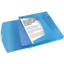 ESSELTE Ablagebox 6240 Vivida A4 PP blau