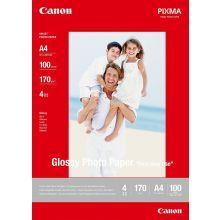 CANON Fotopapier A4 170 g/m2 100 Blatt weiß