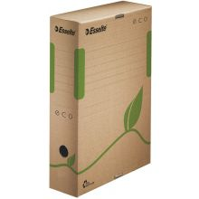 ESSELTE Archivbox 623916 Eco 8 cm naturbraun