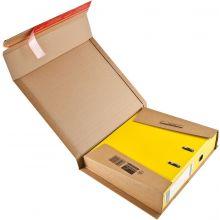 COLOM PAC Versandkarton für Ordner im A4-Format braun