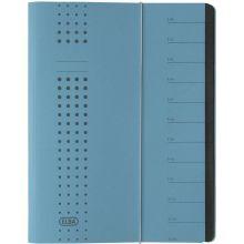 ELBA Ordnungsmappe 1112 A4 mit 12 Fächern blau
