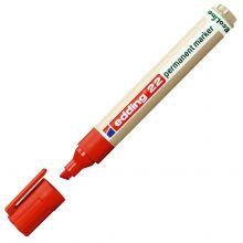 EDDING Permanentmarker EcoLine 22 mit Keilspitze 1-5 mm rot