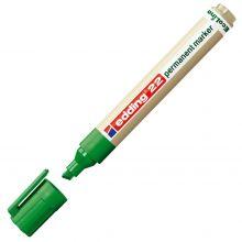 EDDING Permanentmarker EcoLine 22 mit Keilspitze 1-5 mm grün