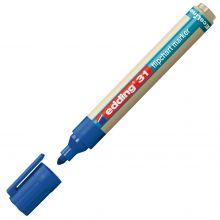 EDDING Flipchartmarker EcoLine 31 mit Rundspitze 1,5-3 mm blau