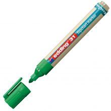 EDDING Flipchartmarker EcoLine 31 mit Rundspitze 1,5-3 mm grün