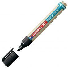 EDDING Flipchartmarker EcoLine 31 mit Rundspitze 1,5-3 mm schwarz