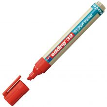 EDDING Flipchartmarker EcoLine 32 mit Keilspitze 1-5 mm rot