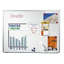 LEGAMASTER Whiteboard Premium Plus 180x120 cm weiß