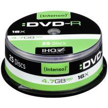 INTENSO DVD-R 25 Stück auf der Spindel