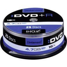 INTENSO DVD+R 25 Stück auf der Spindel