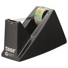 TESA Tischabroller Easy Cut 59327 19 mm x 33 m schwarz